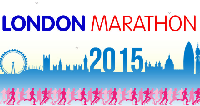 We'll be at the London Marathon 2015