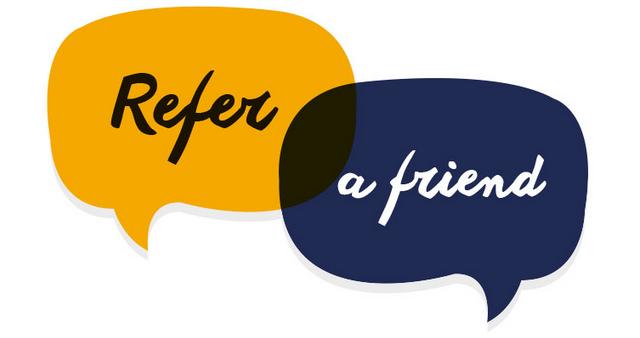 Refer a friend, get 20% off