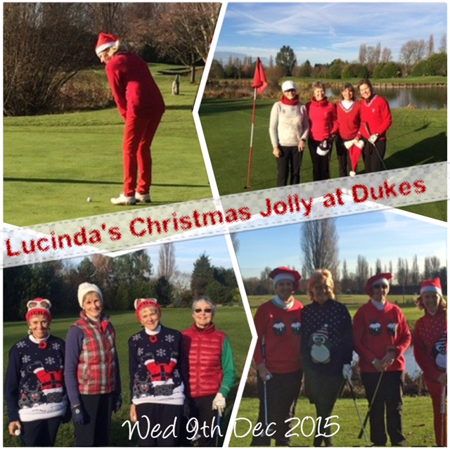 Golf with Lucinda at Dukes Meadows