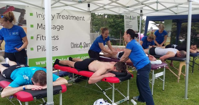 Tour of Wessex riders got treated by Clinic4Sport