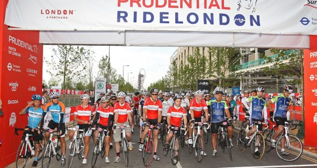 Prudential Ride 100 in London – 31st July 2016