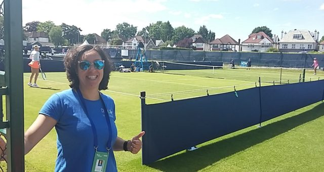 Therapy provision at Surbiton Tennis Trophy 2017