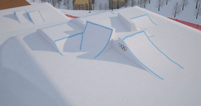 First Look At The Olympic Slopestyle Course