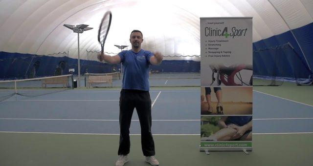 Tennis warm – ups