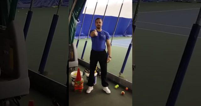Post Tennis Wrist Stretch