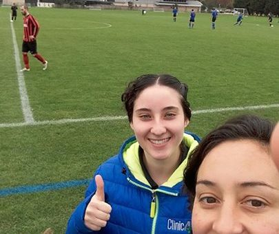 Thank you to Maria Anthony & Chloe Bond for helping Polytechnic F.C  and Richmon…
