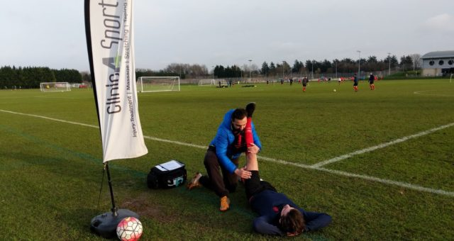 Big thank you to our Sports Therapists who provided pitchside treatments for @Po…