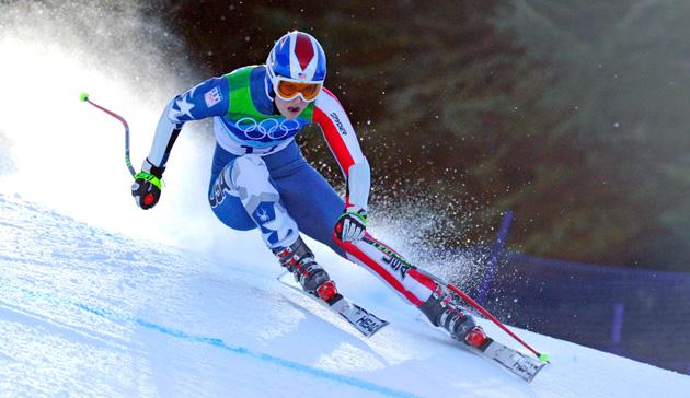 Skiing olympics
