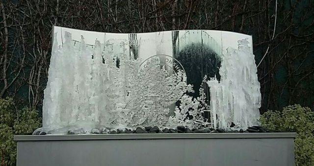 Wimbledon looking a bit fozen today !