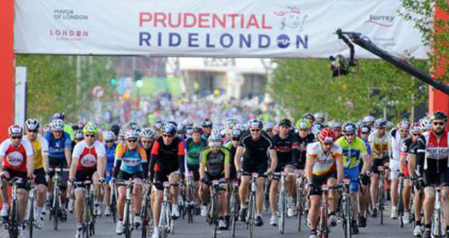 Prudential Ride 100 London 2018