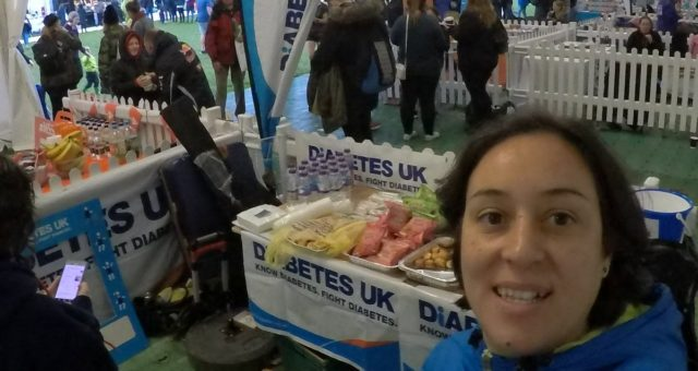 Amazing day helping charity runners at Royal Park Half Marathon with @DiabetesUK…