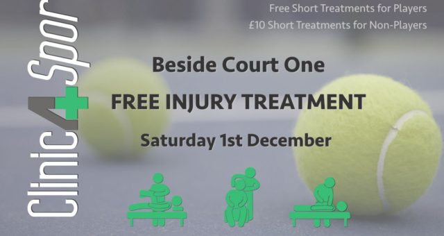 Check out our therapy skills at @DukesMeadows Tennis Pro am on 1st December #ten…