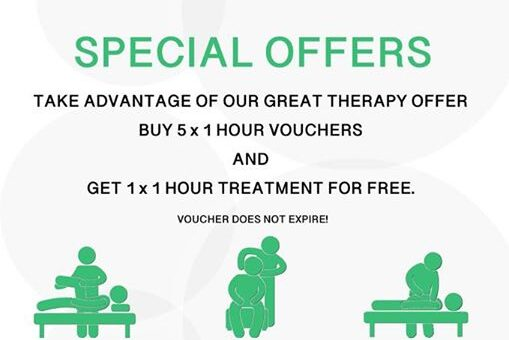SPECIAL OFFERS  buy five 1hour vouchers and get one FREE! No expiry date, use wh…