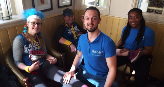 Another fantastic event! Our therapists working alongside @diabetesuk runners at…