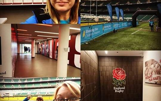 We had an amazing time supporting those who took part in the Twickenham Stadium …