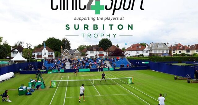Supporting the players at Surbiton Trophy – the first world class grass tennis t…