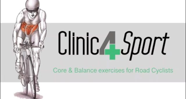 Core & Balance exercises for Road Cyclists