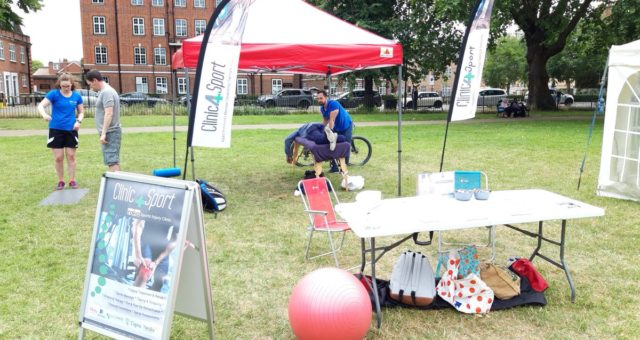 Amazing feeling today at Super Saturday of Sport at Chiswick! ….We therapists …