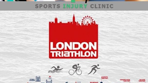 Only 3 weeks to go until the The London Triathlon. We are the official therapist…