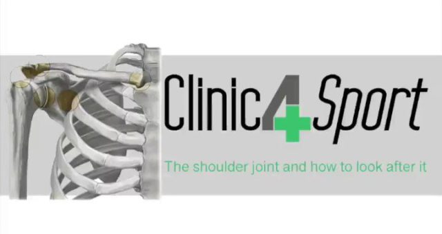 The shoulder joint and how to look after it! For full article forward the link  …