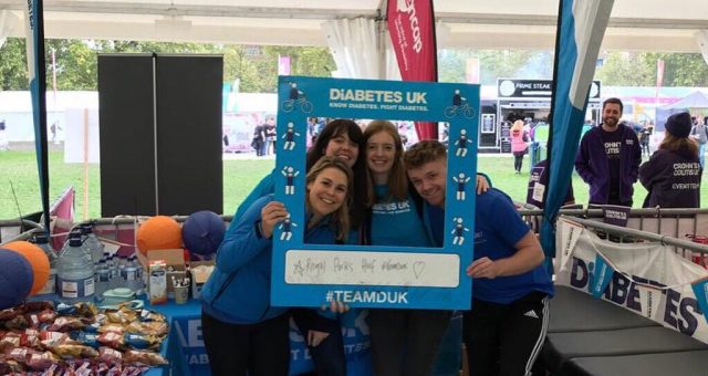 Our last charity @DiabetesUK were a pleasure to work with! Well done to everyone…