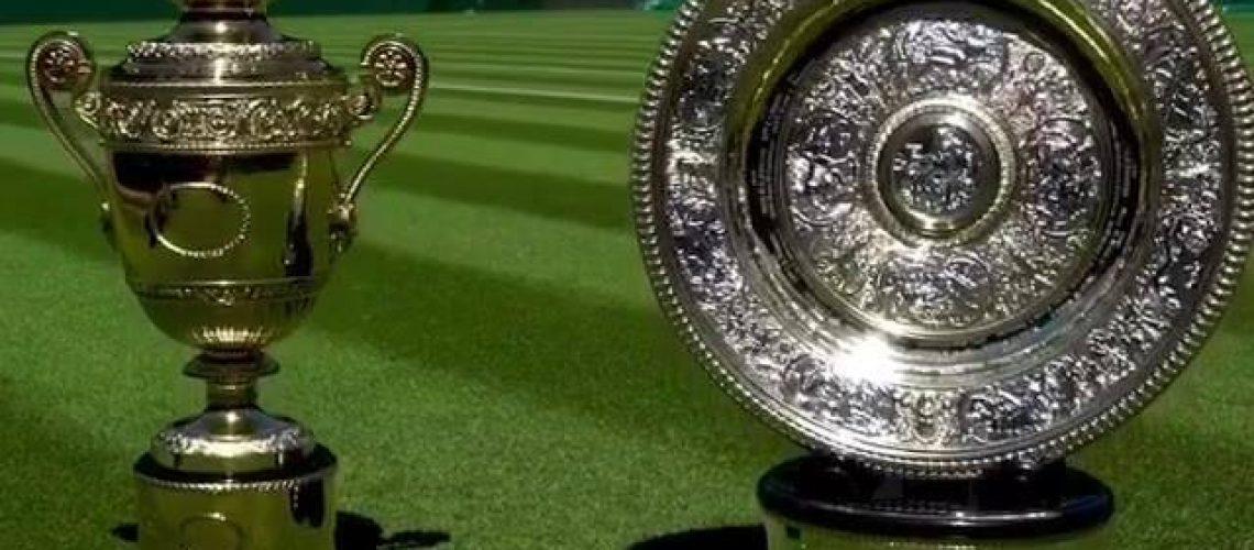 Tennis Wimbledon Trophy